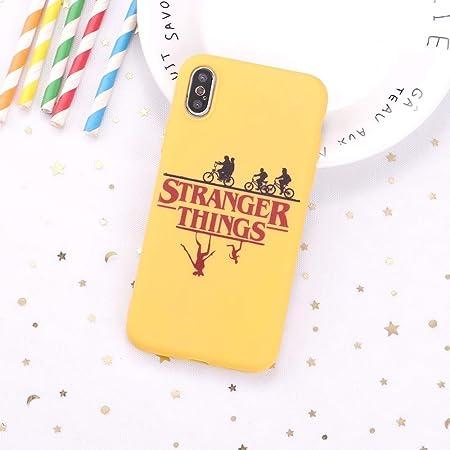 LvShui Coque iPhone 7 / iPhone 8 Coque Stranger Things Dessin ...