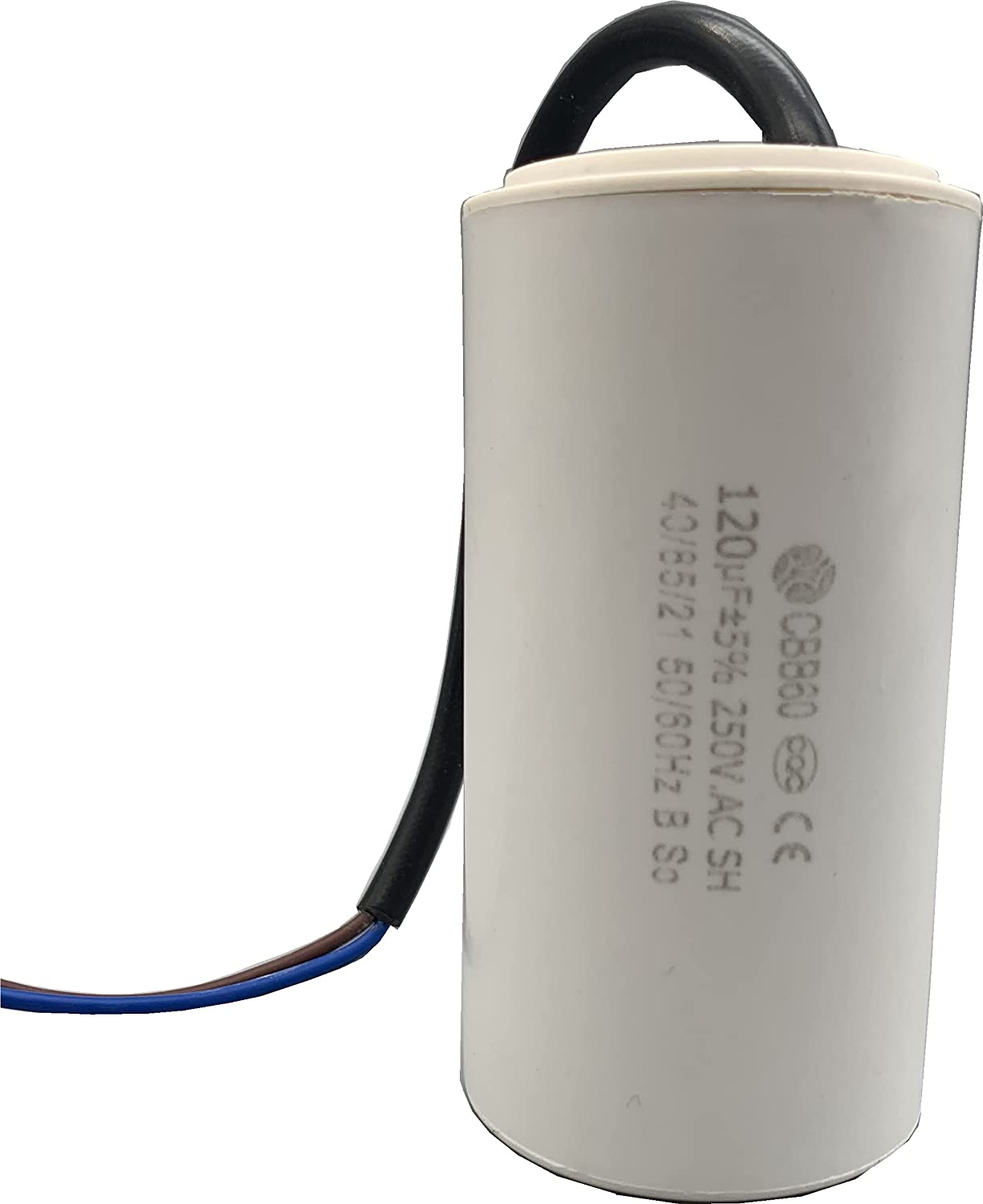 CBB60 Run Capacitor with Wire Lead Cable Under blast sales AC 60Hz 250V 120uF 50 Spring new work one after another R