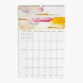 2019-2020 Foil Watercolor Calendar