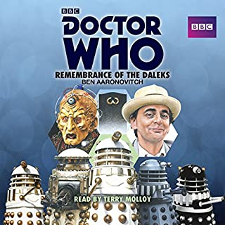 Doctor Who: Remembrance of the Daleks cover art