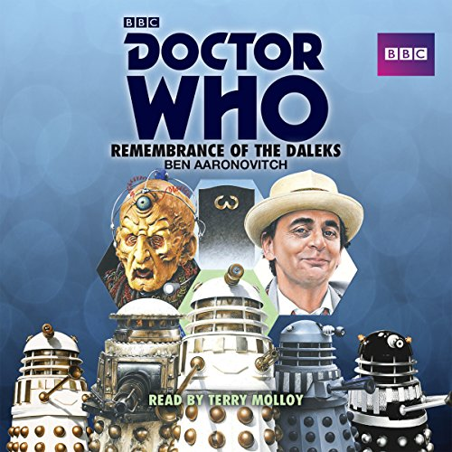 『Doctor Who: Remembrance of the Daleks』のカバーアート