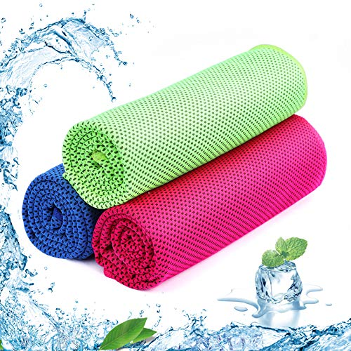 SKL Cooling Towel Ice Cold,Quick Dry Fitness Towel for Instant Relief,Use...