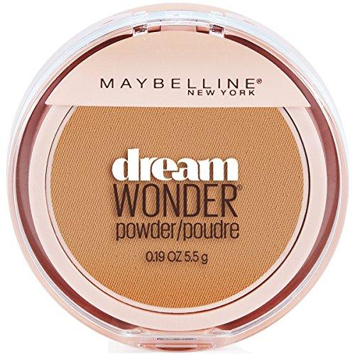 Maybelline New York Dream Wonder Powder Makeup, Caramel, 0.19 oz.