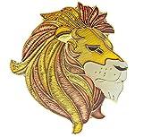Sujak Military Items Lion Head Golden Mane Hat or Lapel Pin AK358 F434J