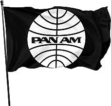 JXXO Pan Am Flag,Outdoor Garden decorates Grommzets Tough Durable Fade Resistant for All Weather Outdoor