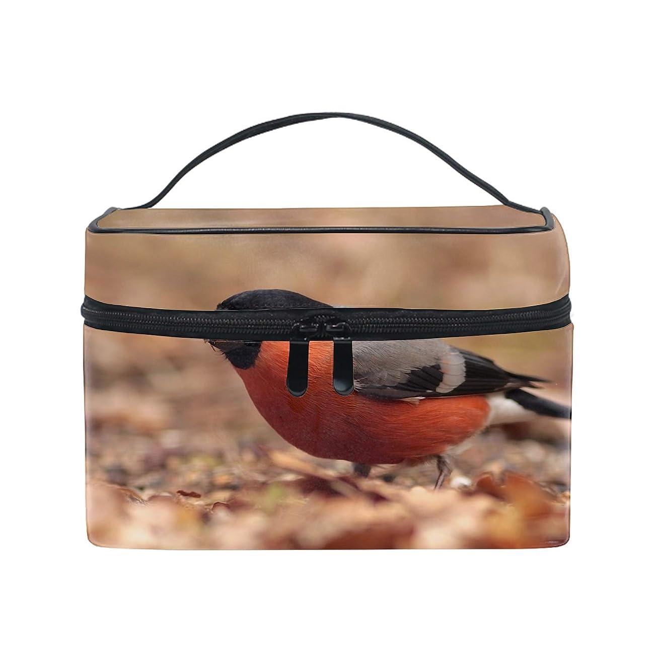 ミキサー気配りのある尊敬化粧ポーチ メイク収納 中身が見やすい鳥 持ち運び用 小物入れ
