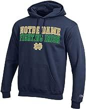 Champion Notre Dame Fighting Irish Mens Hoodie Sweatshirt Fight Navy