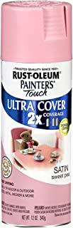 Rust-Oleum 249063 Painter's Touch 2X Ultra Cover, 12-Ounce, Satin Sweet Pea