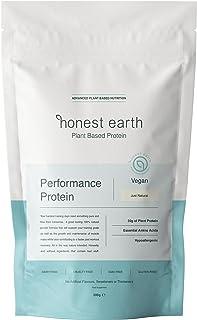 honest earth   No Nonsense Vegan Protein Powder   No Gums, No Sugar, No Fillers, No Artificial Flavoring   100% Pea Protei...