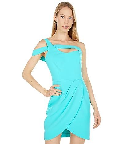 BCBGMAXAZRIA Off-the-Shoulder Tulip Hem Dress