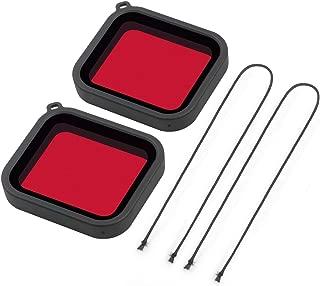Filtro rojo para Gopro 5 con clip para carcasa de buceo LetrinoTM