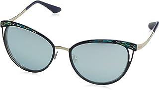 Bulgari 0Bv6083 20206J 56 Gafas de sol Azul (BluteBlue White) Unisex-Adulto