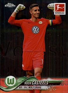 2018-19 Topps Chrome Bundesliga #11 Koen Casteels VfL Wolfsburg Soccer Trading Card