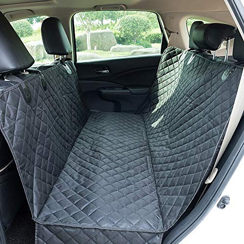 Gwendolyn Waterproof Pet Dog Seat Cover with Hammock for Cars, Trucks and SUVs Pet Car Seat Cushion Waterproof Durable Nonslip Scratch Proof Dog Hammock