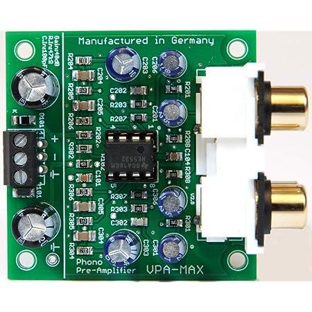 Phonovorverstärker Vpa Max Rca Hochwertiger Stereo Elektronik