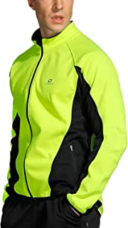 LAMEDA Men's Detachable Fleece Multi-Functional Windproof Warm Jacket Suitable for Cycling Training Hiking