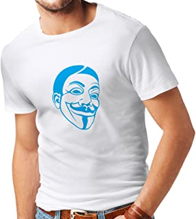 Men's T-Shirt Anonymous Freedom Fighters V for Vendetta Mask