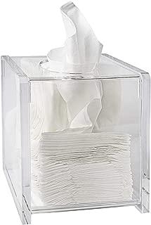 Tissue Box Cover Tissue Box Holder Bathroom Decor Bathroom Accessories Storage Organizers Clear Cube 5