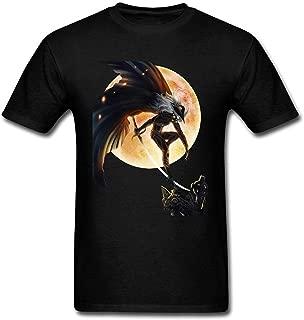 Top-Tshirt Men's Vampire Hunter D Design Cotton T Shirt