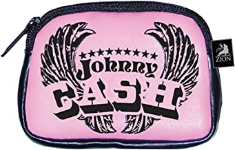 Johnny Cash Women's Flight Girls Wallet Black