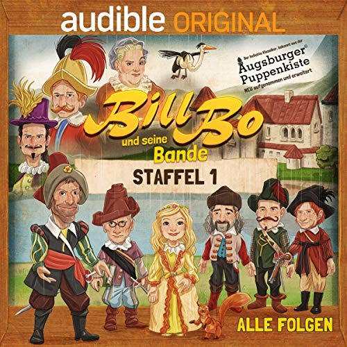 Bill Bo und seine Bande: Die komplette 1. Staffel audiobook cover art