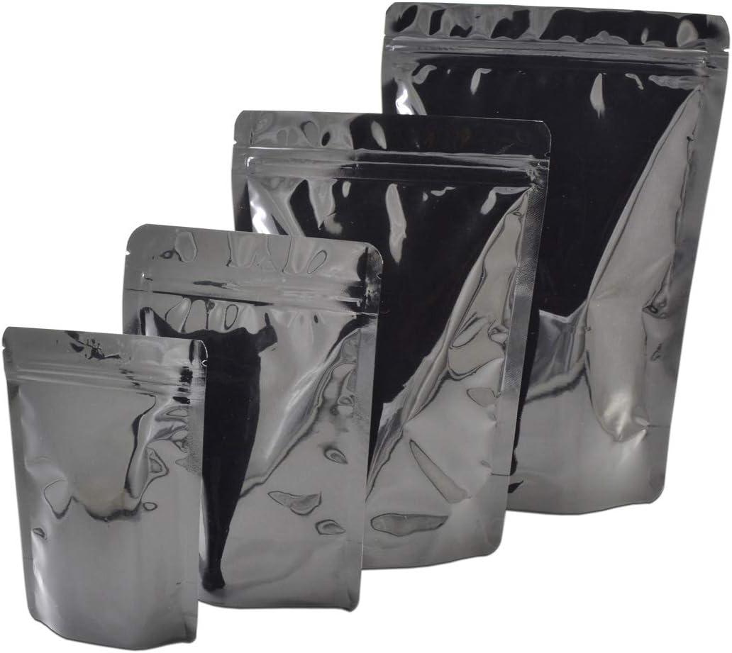 激安価格と即納で通信販売 100 Pcs Colorful Stand Up 新着 Zip Lock Aluminum Mylar Bags Pouch Foi