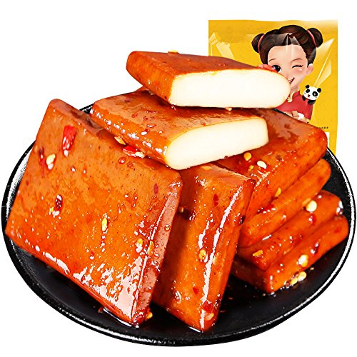 Sichuan Flavor Spicy Snack Tofu Spicy Bean Curd with Spicy Flavor 250g (8.8oz)
