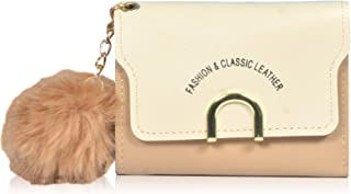 Roy variety's Women's Stylish Delight Trendy PU Leather Album Slim RDIF Protected Mini Small Purs Clutch & Wallet with ATM Card Holder and Coin Pocket (Gold)