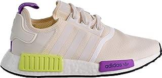 adidas 男款 Originals NMD R1跑步鞋灰色 / 白色