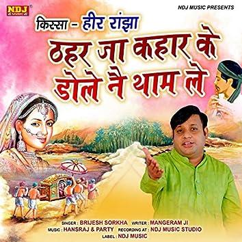 Thahar Ja Kahaar Ke Dole Nai Tham Le - Single