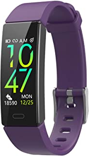 ZURURU Fitness Tracker with Blood Pressure Heart Rate Sleep Health Monitor for Men and Women, IP68 Waterproof 11 Sport Modes Activity Tracker with Step Calorie Counter Pedometer Watch