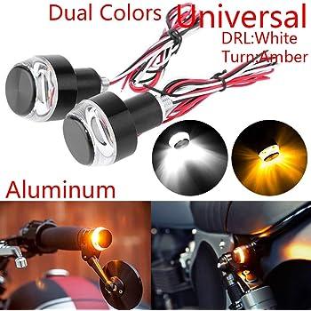 TABEN Luce Lampeggiante indicatore di direzione BMW Suzuki. indicatore di direzione Universale per Moto per Harley Cruiser Honda Yamaha Kawasaki