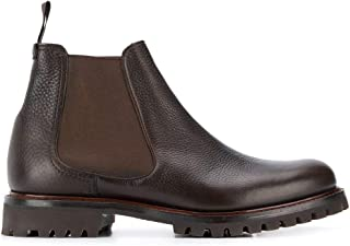Luxury Fashion | Church's Men ETC1599AF0F0AEV Brown Leather Ankle Boots | Autumn-winter 19