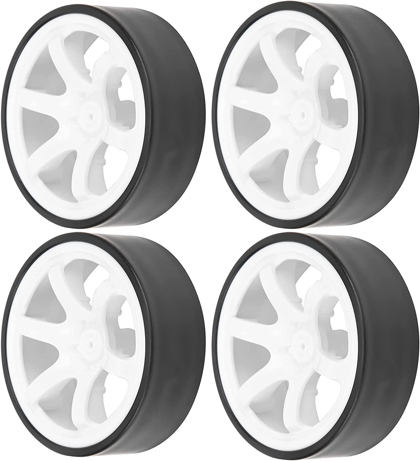 SALUTUY RC Wheel Rims Car Drift and Recommendation Tires Under blast sales Install Di to Easy