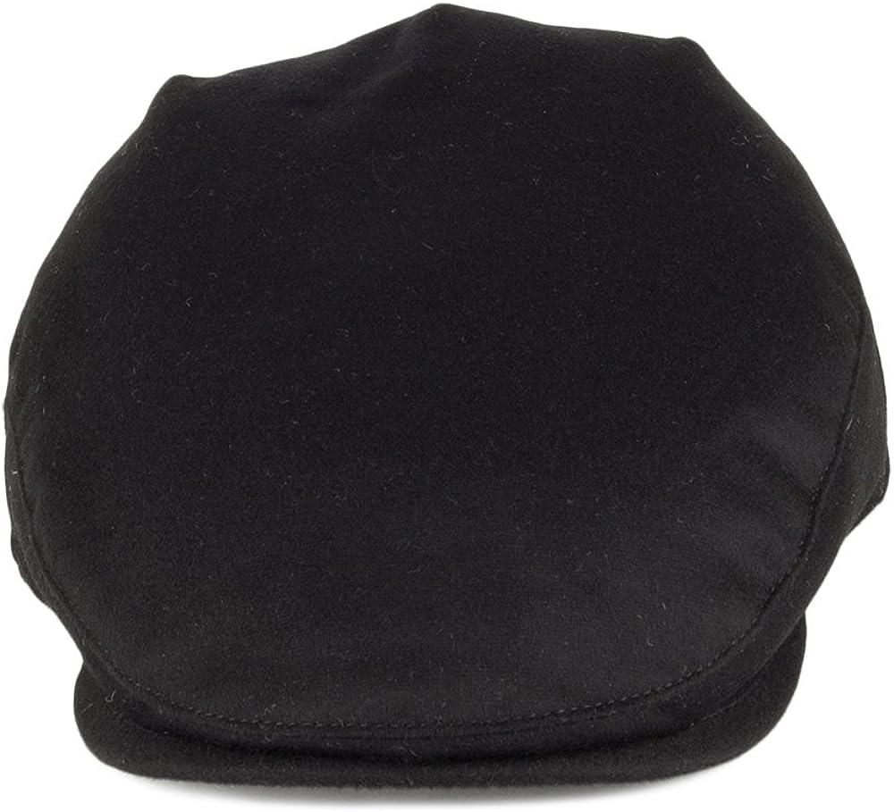Black Christys Hats Balmoral Pure Cashmere Flat Cap