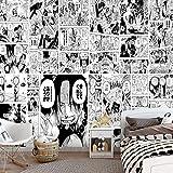 Hintergrund Wallpaper_Anime Nautical King Wallpaper Thema Hotel Schlafzimmer Restaurant Milk Tea Shop Japanische Manga BackgroundWallpaper 3D Fototape Wandbild Tapete Fototapete...
