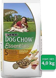 Dog Chow Essentials Comida para Perro, Adulto, Raza Mediana y Grande 4 kg