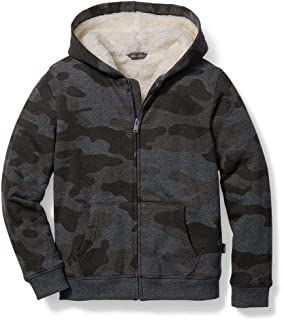 Boys' Camp Fleece Sherpa-Lined Hoodie