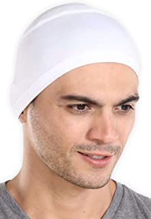 Tough Headwear Sweat Wicking Helmet Liner/Cooling Skull Cap for Men - Helmet & Hard Hat Liner Accessory - UPF 45 Sun Prote...