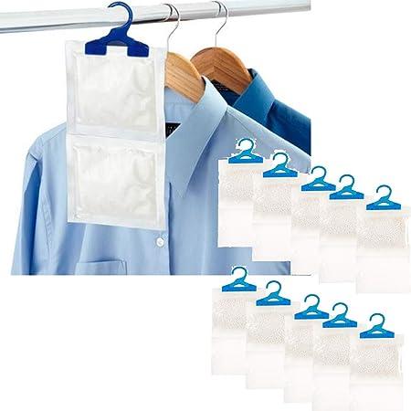 Deshumidificadores colgantes interiores ayudan a detener la humedad, el moho y la condensación, absorbe hasta 3 veces su propio peso en agua, de ...