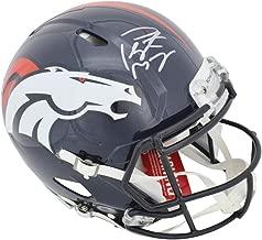 Peyton Manning Denver Broncos Signed Autograph Authentic On Field Proline Speed Helmet Steiner Sports Certified