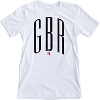 Love Red Boutique Nebraska Huskers Tee Shirt - GBR - Go Big Red Crew Neck Tee