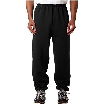Champion Men's Sweatpants with Inside Drawstring, black, Small
