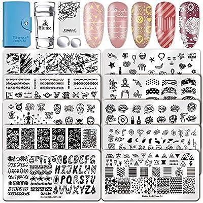 Biutee Nail Art Stamping