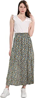 Long Cotton Skirt Chiffon Dress Summer Garments with Two...