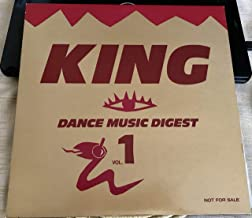 KING DANCE MUSIC DIGEST VOL.1 JAPAN 1989 PROMO