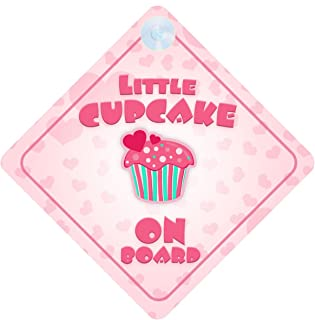 Little Cupcake on Board Baby//Child on Board Car sign