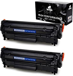 IKONG Compatible Toner Cartridge Replacement for HP 12A Q2612A H-Q2612A Works with HP Laserjet 1020 1010 1012 1018 1022 3055 3050 M1319f,MFP 3015 1022N 3030 3052 1022NW 3020 M1005 M1005MFP,2-Black