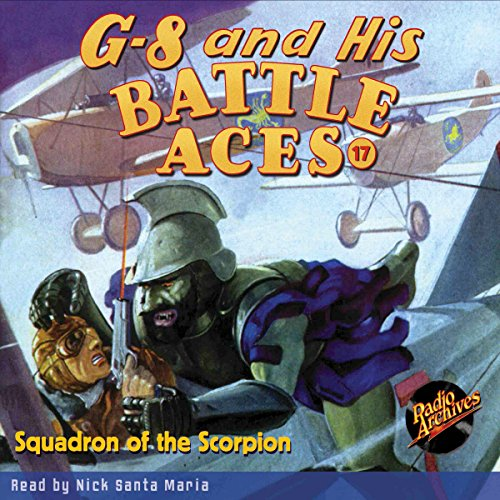 G-8 and His Battle Aces #17, February 1935 audiobook cover art