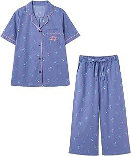 [ピーチ?ジョン] パジャマ 【綿×麻】自然生まれの涼感が肌にさらり コットンリネンサマーシャツパジャマ 1023620